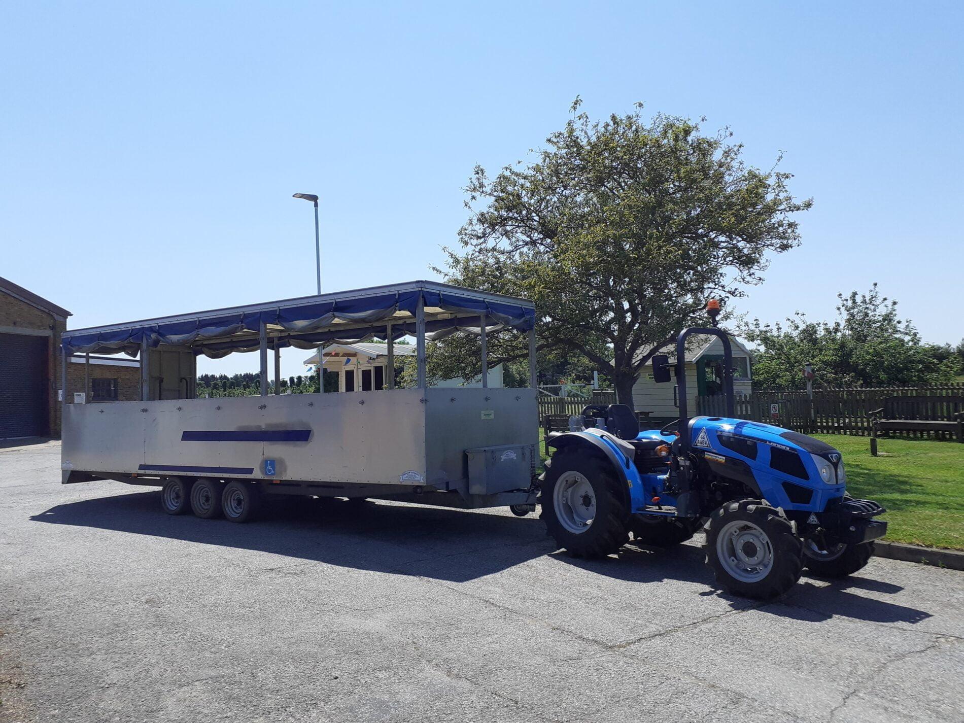 Brogdale Tractor