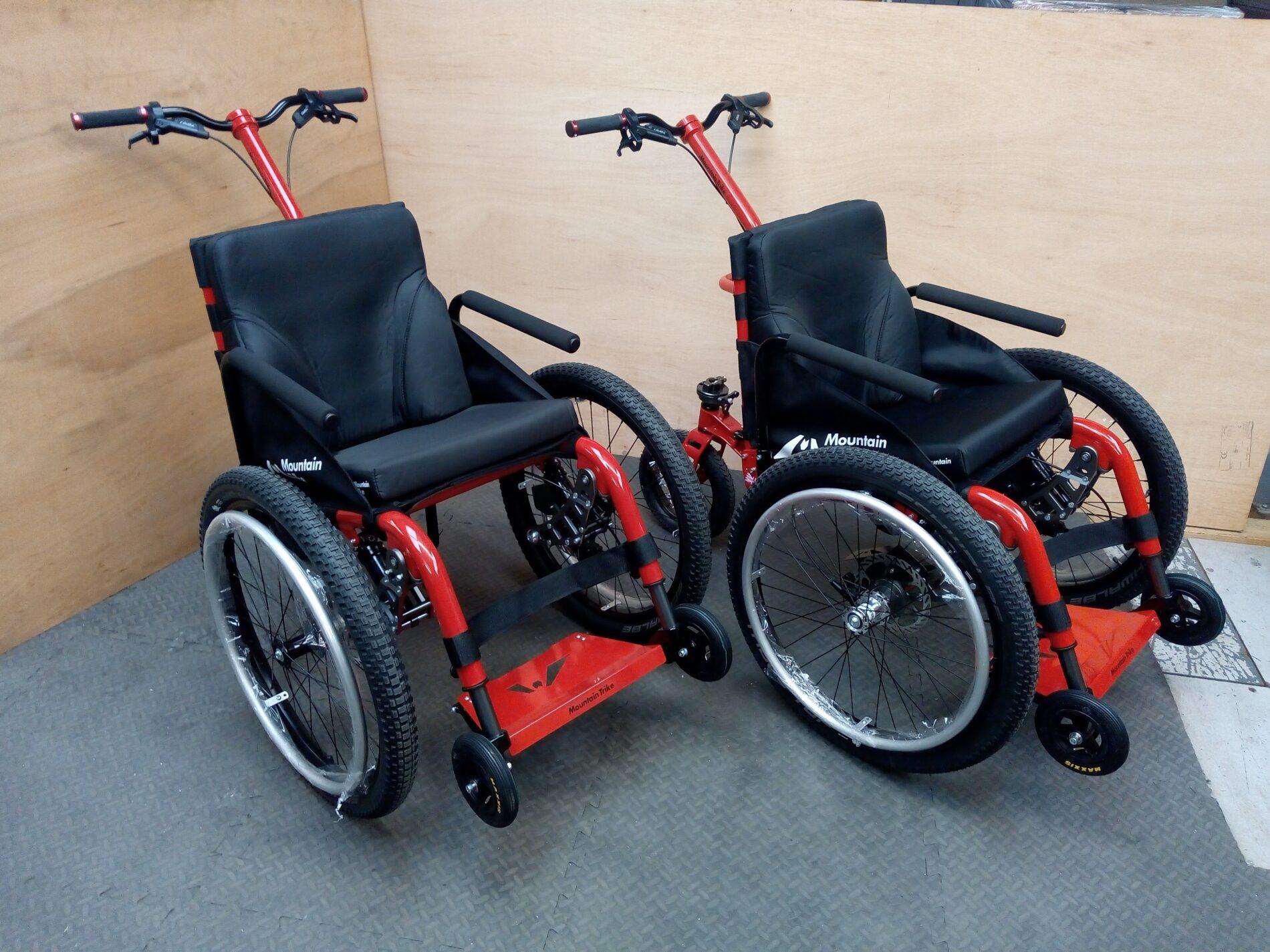 Brogdale all terrain wheelchairs